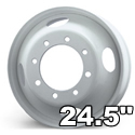 "24.5"" Heavy Duty Wheels"