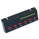 Six Switch Panel for Directional Warning Lights