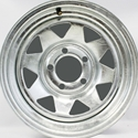 Galvanized Trailer Wheels