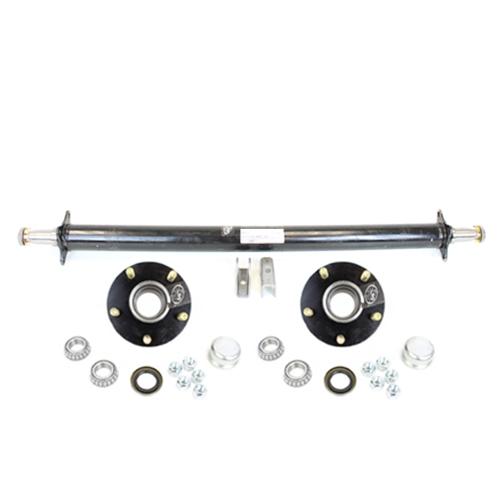 Southwest Wheel Tandem Trailer Axle Hanger Kit for Double Eye Springs 3.5K Axles