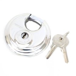 Stainless Steel 70mm Round Pad Lock