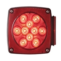 Square Stop/Turn/Tail LED Lights