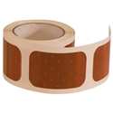 3.5 Inch Amber Rectangular DOT Stick-On Reflectors