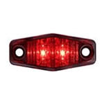 Red Mini-Sealed LED Marker/Clearance Light