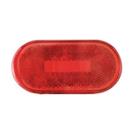 Red Oval LED Marker/Clearance Light