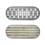 "6"" Oval Sealed Clear DOT LED Back-Up Light"