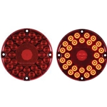 "7"" Round LED Transit Light (Red)"