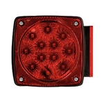 "Miro-Flex Universal Stud-Mount Under 80"" Combination LED Tail Light Passenger Side"