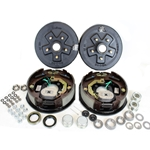 "5-4.5"" Bolt Circle 3,500 lbs. Trailer Axle Electric Brake Kit"