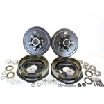 "6-5.5"" Bolt Circle 5,200 lbs. Trailer Axle Electric Brake Kit"