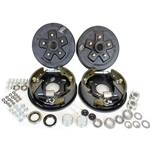"5-5.5"" Bolt Circle 3,500 lbs. Trailer Axle Hydraulic Brake Kit"