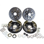 "6-5.5"" Bolt Circle 3,500 lbs. Trailer Axle Hydraulic Brake Kit"
