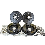 "6-5.5"" Bolt Circle 5,200 lbs. Trailer Axle Hydraulic Brake Kit"