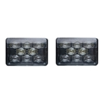DOT Compliant  High Beam Sealed LED Headlamp  Pair