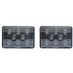 DOT Compliant  Low Beam Sealed LED Headlamp Pair
