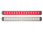 Thinline Clear LED Stop/Turn/Tail Lights Red