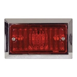 Low Profile Red LED Marker/Clearance Light