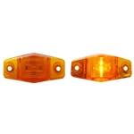 Mini Sealed Amber LED Horizontal-Vertical Marker/Clearance Light