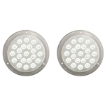 "Opti-Brite™ LED 6"" Dome Light Pair"