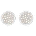 "Sealed LED 6"" Dome Light Pair"