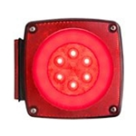 GloLight Waterproof LED Combination Tail Light Passenger Side