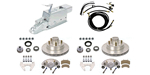 Complete Kodiak Disc Brake Kits with Lines and Electric