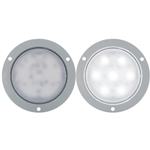 "Opti-Brite ™  4"" Dome Light Flange Mount"