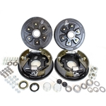 "6-5.5"" Bolt Circle 3,500 lbs. Trailer Axle Hydraulic Brake Kit With Timken Bearings"