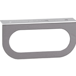 Single Oval Stainless Steel DOT Light Bracket