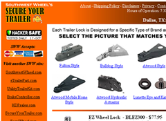 TRAILER LOCKS FROM SECUREYOURTRAILER.COM
